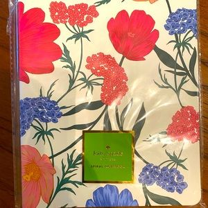 Kate Spade spiral notebook